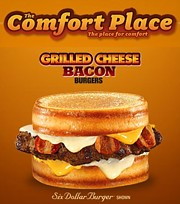 Carl's Jr. Grilled Cheese Bacon Burgers - The Comfort Place