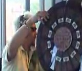 Guy Fieri Spins the Wheel of Meat on the Loren & Wally Morning Show.