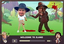 Zombieland - Welcome to ZLand - Turn yourself into a zombie.