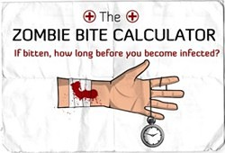 Zombie Bite Calculator